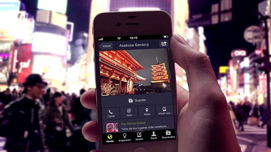 App's & páginas web de nuestros viajes