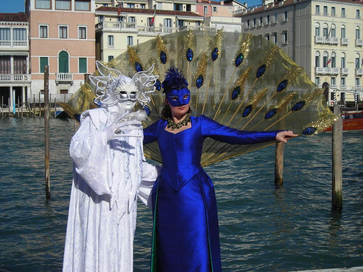 Carnaval de venecia un espect culo impresionante - Mascaras de carnaval de venecia ...