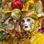 Impresionantes disfraces en el carnaval de Venecia