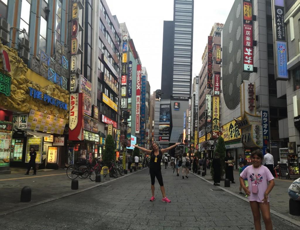 Barrio de Kabukicho en Tokyo