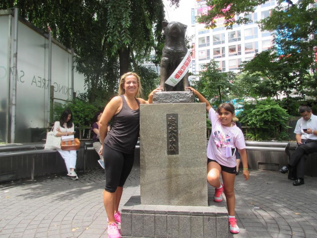 Monumento a Hachiko Shibuya Tokio Japon