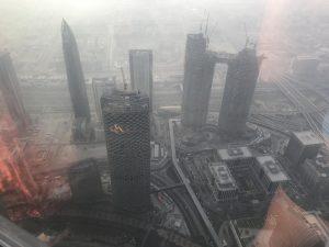 Dubai en un dia - vistas desde el Edificio Burj Khalifa