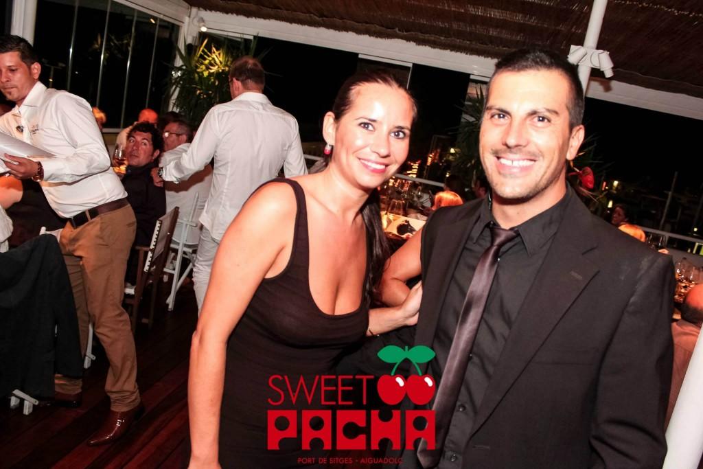 Sweet Pacha Sitges - Los dos camareros que nos atendieron!