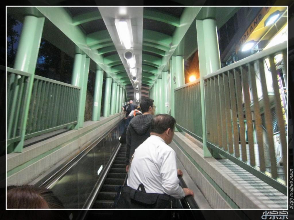 Mid Levels Escalator Hong Kong