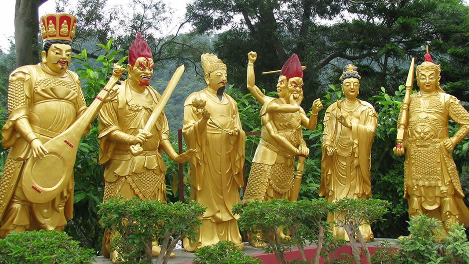 Monasterio de 10.000 Budas Hong Kong