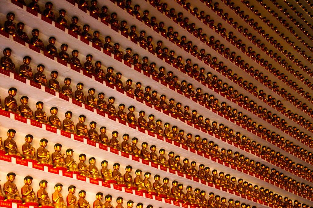 Templo de los 10000 Budas Hong Kong