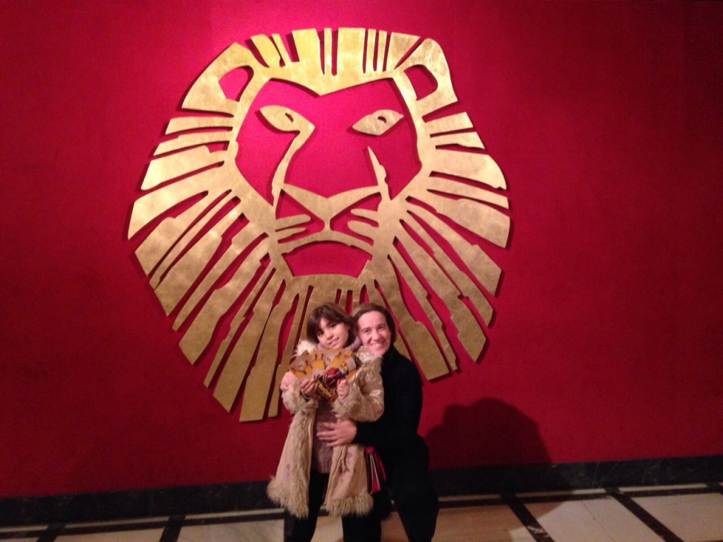 El musical de rey leon en Madrid