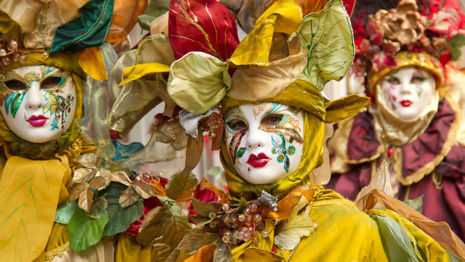 Carnaval de Venecia… un espectáculo!