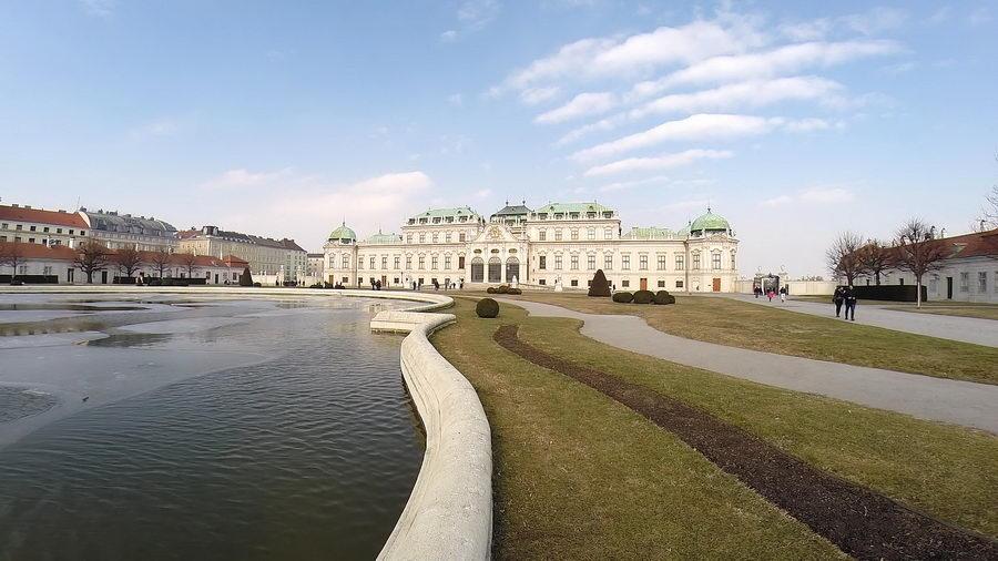 Viena en San Valentin viajando con niños