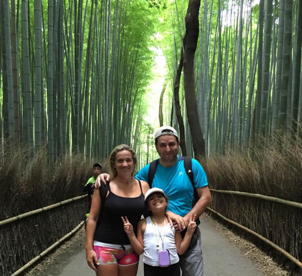 Bosques de Bambú en Arashiyama