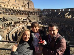 Foto interior Coliseo de Roma