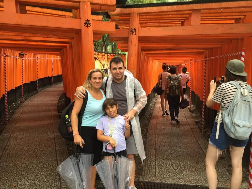 Santuario sintoísta de Fushimi Inari Kyoto