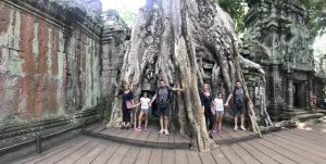 Viajar a Camboya con niños
