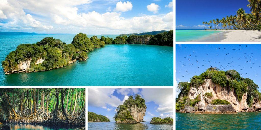 Parque nacional de los haitises en Republica Dominicana