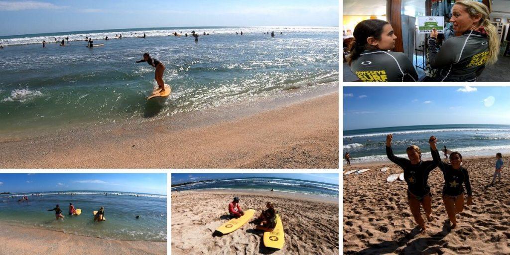 Clases de Surf en Bali