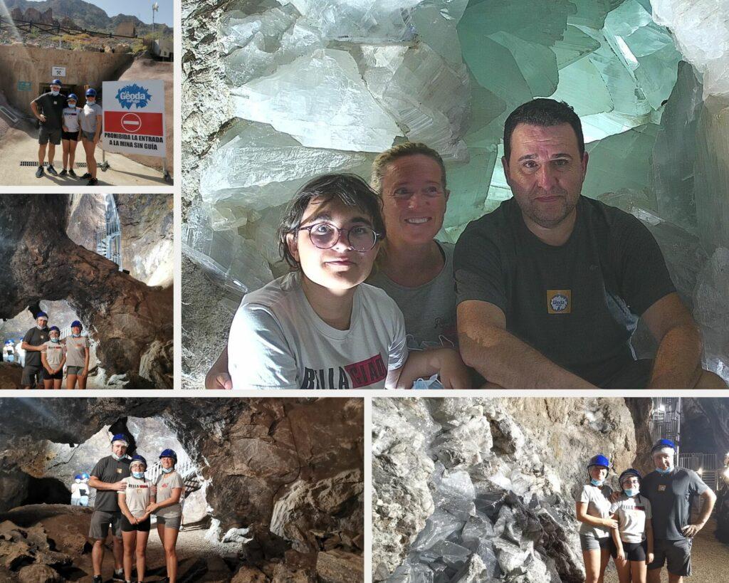 Geoda de Pulpi - Almería para disfrutar con tu familia!