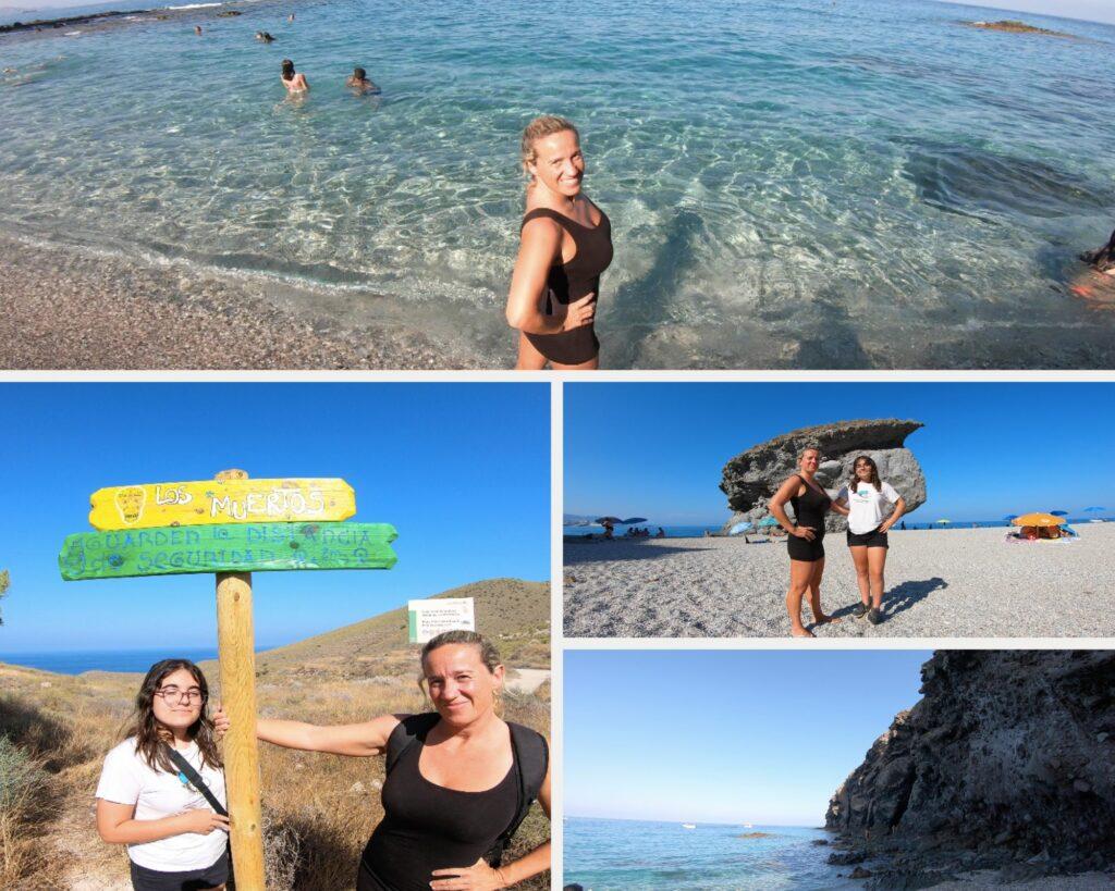 Playa de Los Muertos - Almeria con niños
