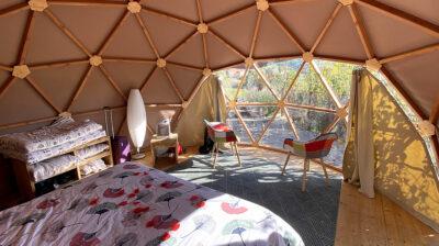 Lugares románticos: Geodomo en Francia