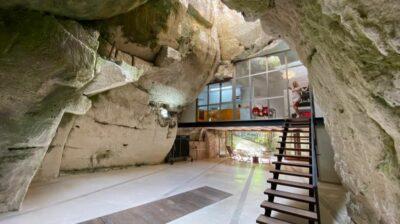 Fin de semana romántico en una casa-cueva de intercambio
